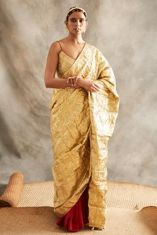 Zari Saree with Blouse