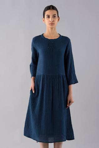 Cotton Linen Dyed Day Dress