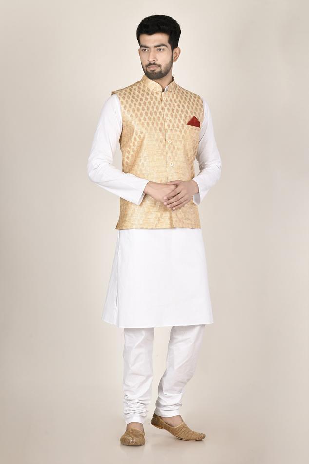 Jacquard Nehru Jacket