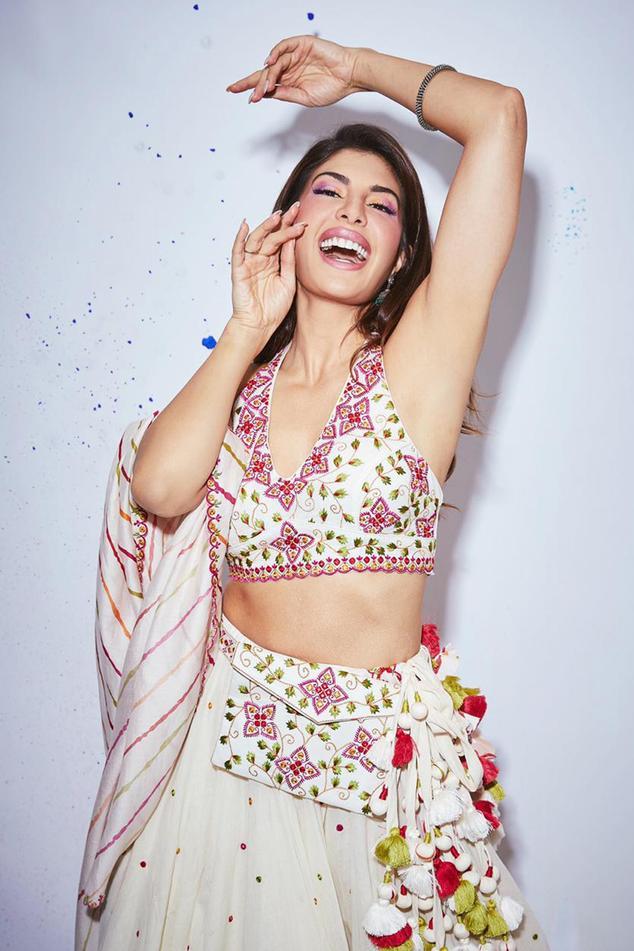 Silk Chanderi Lehenga Set