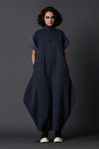 Linen Balloon Jumpsuit