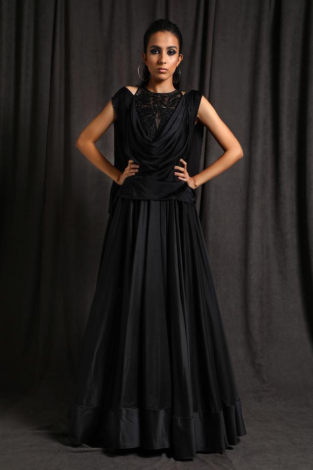 Chanderi Anarkali Gown