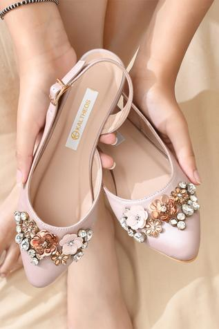 Iris Pointed Toe Back Strap Mules