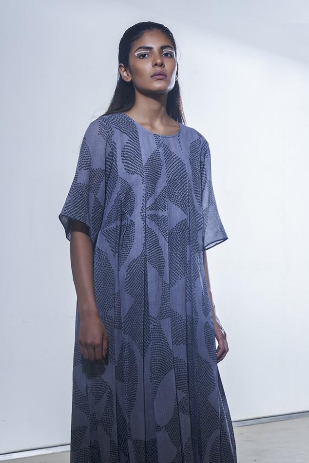 Organic Cotton Shibori Dress