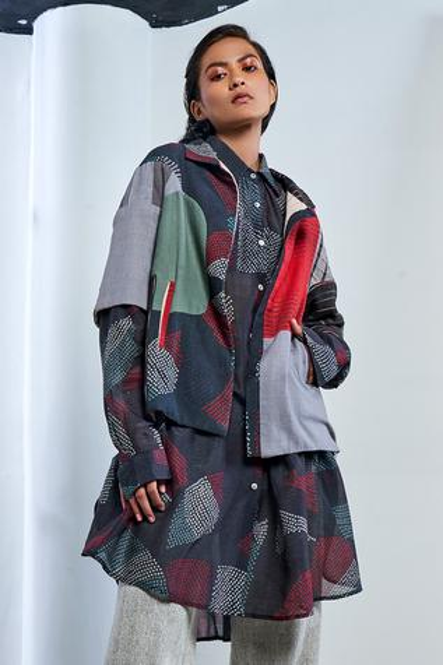 Silk Shibori Shirt