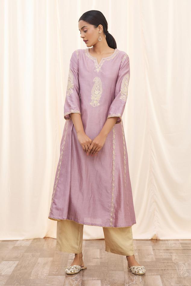 Pure Silk Kurta & Pant Set