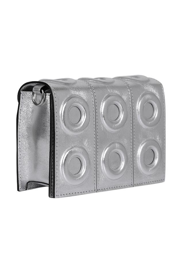 Metallic Flap Sling Bag
