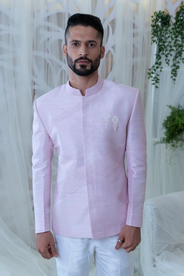 Embellished Bandhgala Pant Set