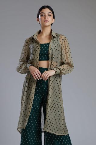Chanderi Silk Jacket