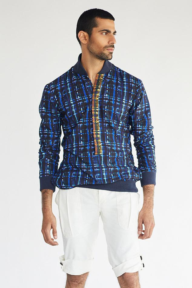 Cotton Shirt & Shorts Set