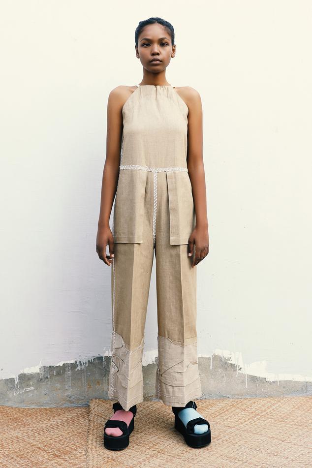 Cotton Twill Jumpsuit