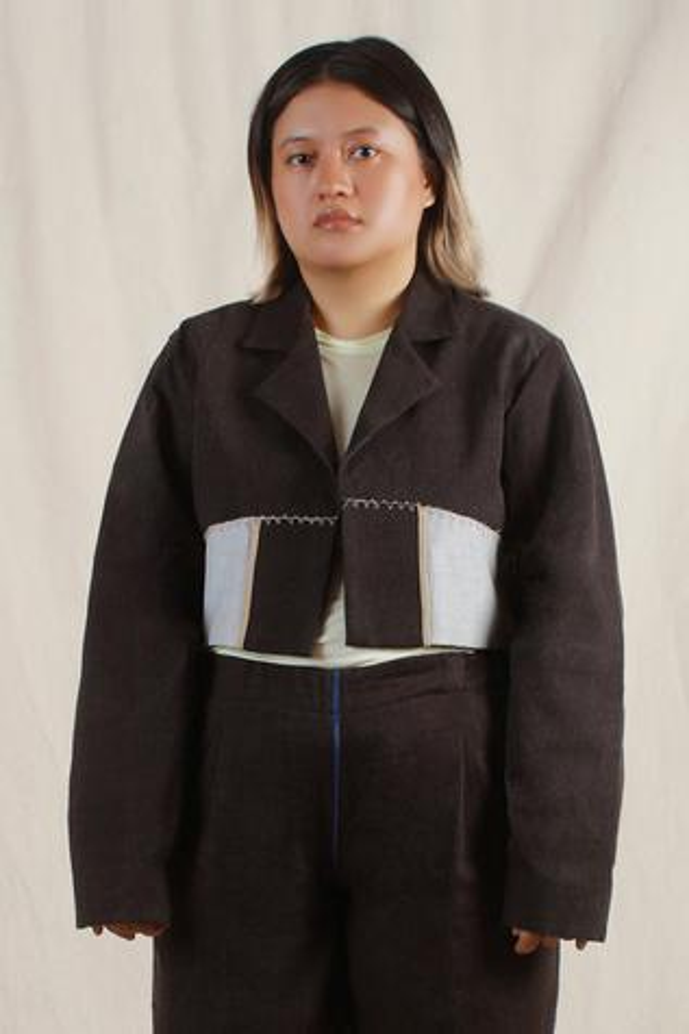 Handwoven Cotton Denim Jacket