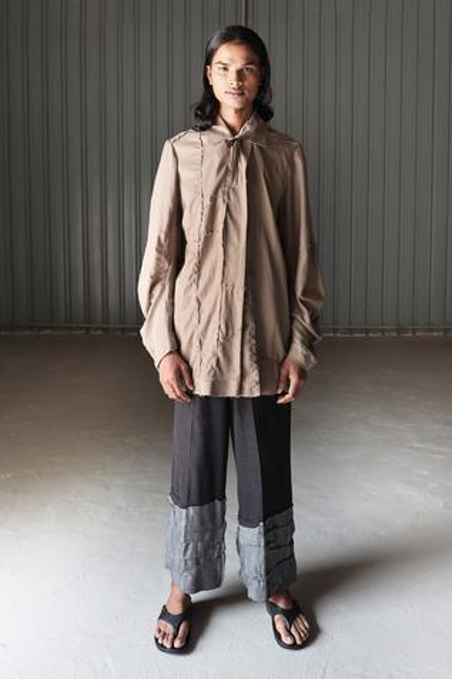 Handloom Cotton Denim Jeans