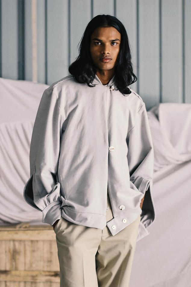 Mandarin Collar Jacket