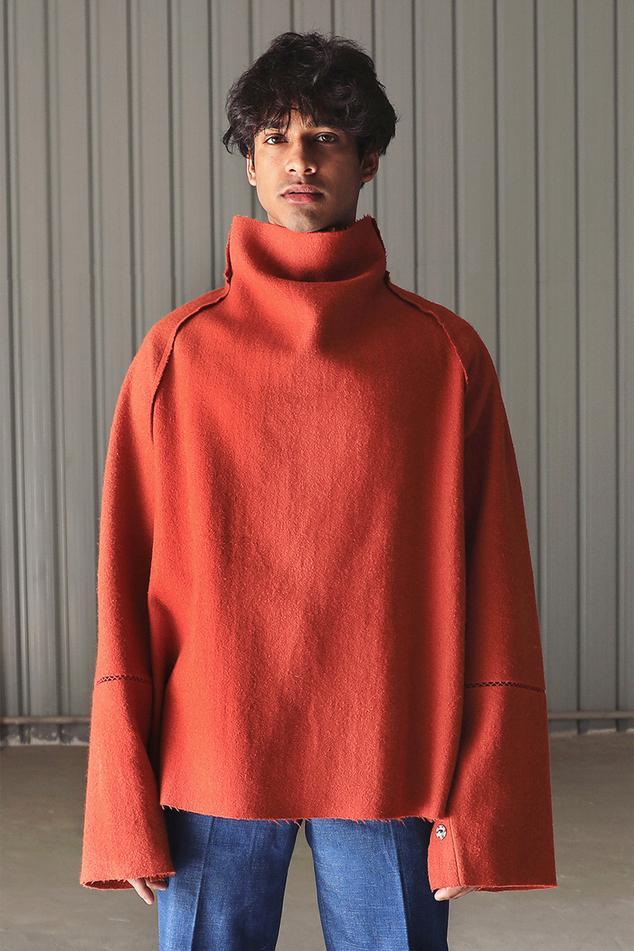 Handwoven Wool Jumper