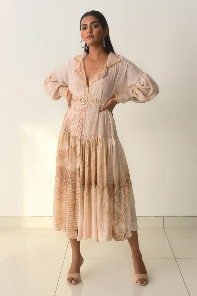 Handwoven Shibori Dress