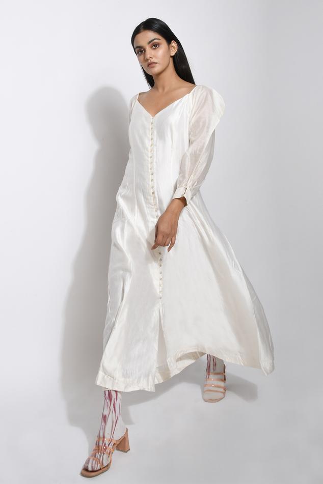 Pure Handwoven Silk Dress