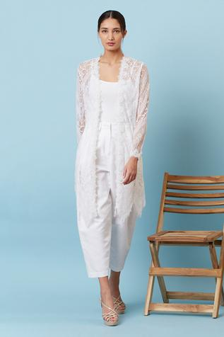 Cotton Pleated Pant