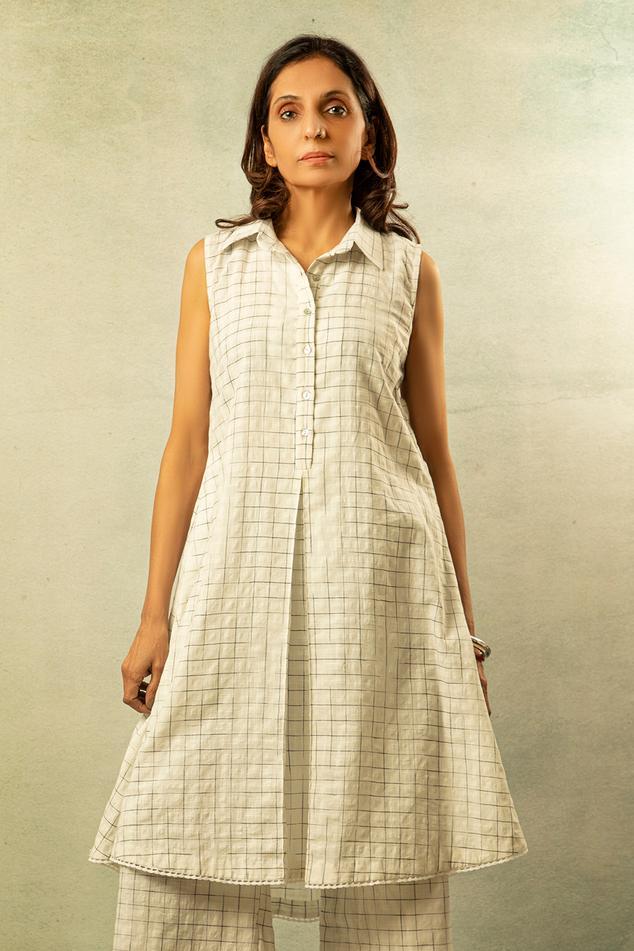 Handwoven Printed Tunic