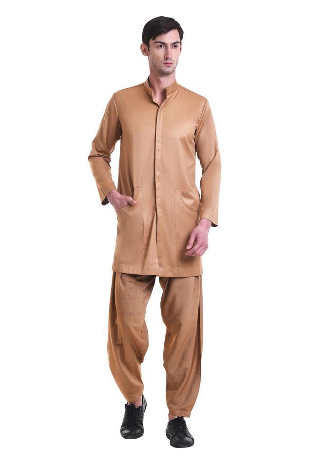Plain kurta & pant set