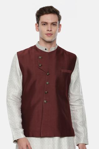 Silk Nehru Jacket