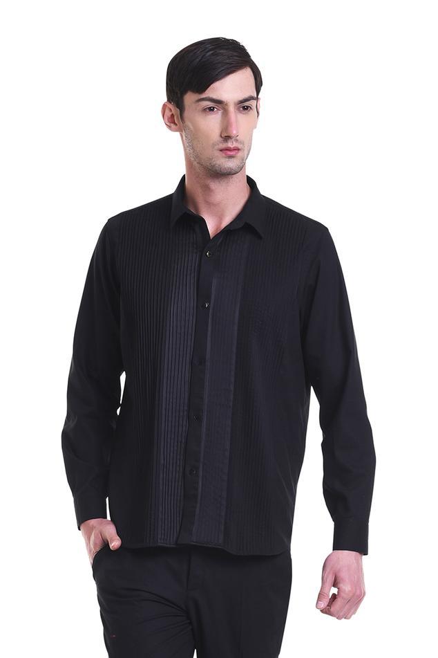 Pintuck detail shirt
