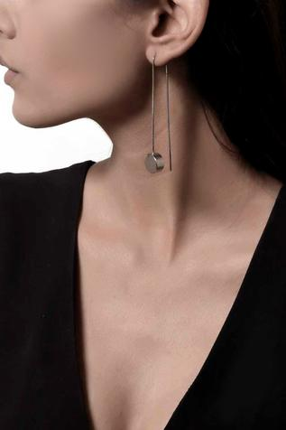 Geometric Long Earrings