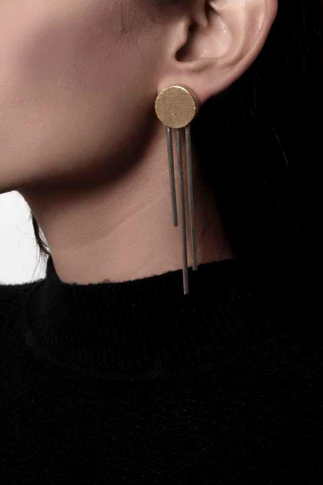 Geometric Statement Earrings