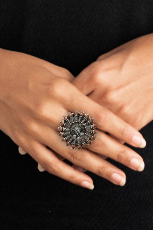 Antique Floral Ring