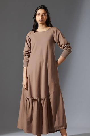 Handwoven Aboli Midi Dress