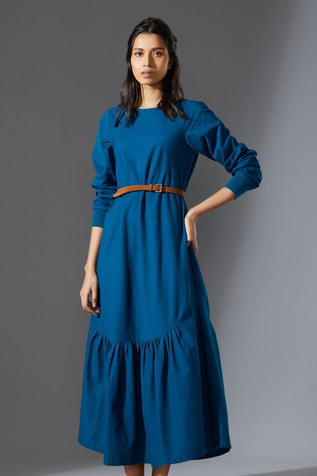 Handwoven Aboli Midi Dress