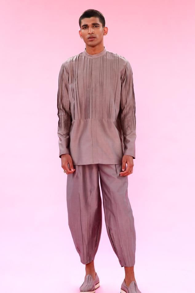Cotton Silk Pant
