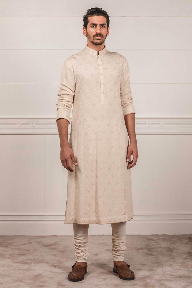 Lucknowi Chikankari Kurta Set