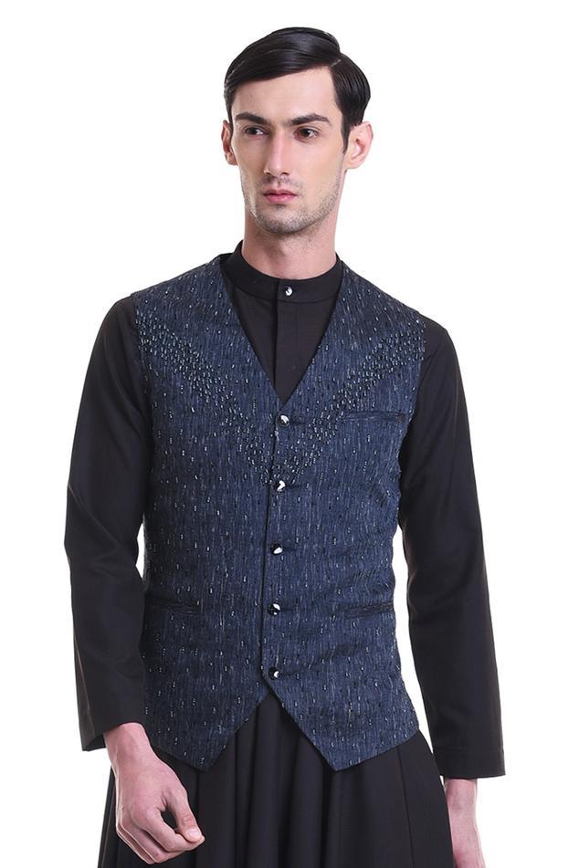 Linen silk waistcoat