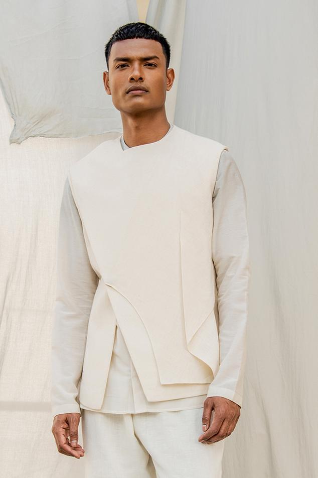 Handwoven Cotton Waistcoat