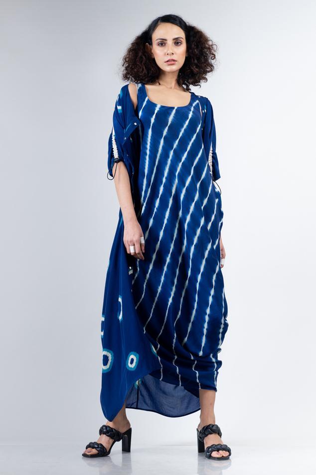 Leheriya Print Dress