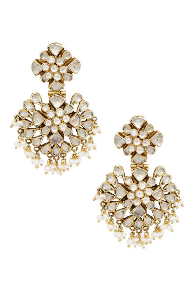 Crystal Stone Earring