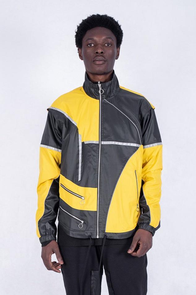 Colorblock Oversize Jacket