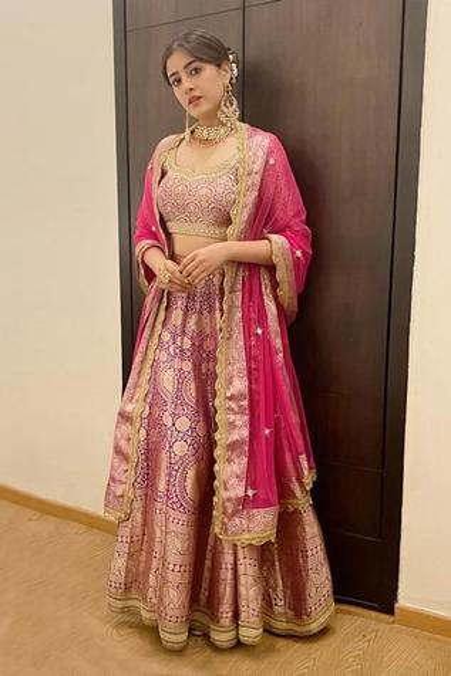 Handwoven Banarasi Silk Lehenga Set