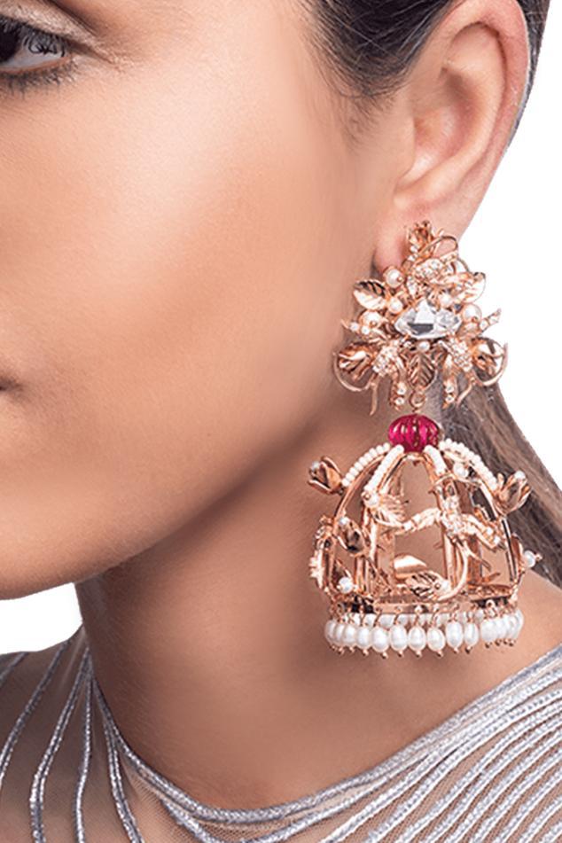 Crystal Dangler Earrings