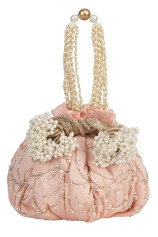 Silk Embellished Potli Bag