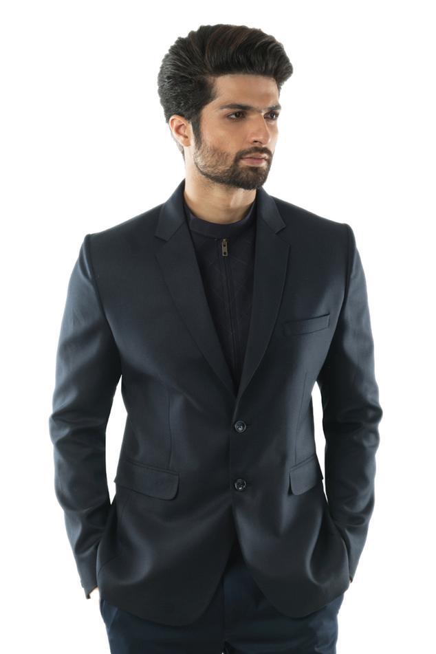 Button Front Blazer Set