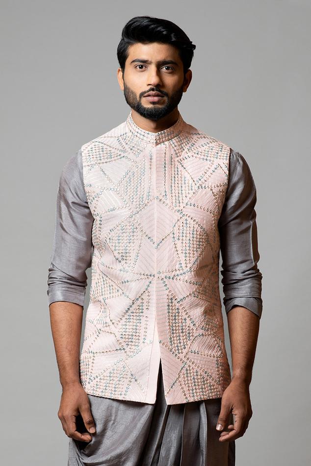 Embroidered Bundi