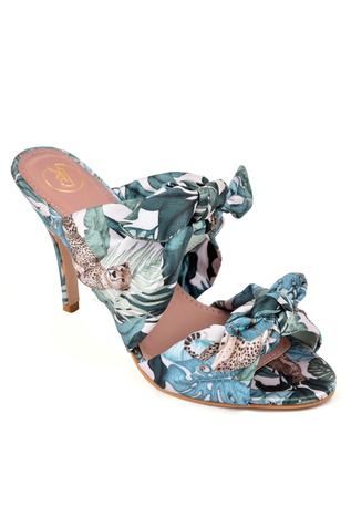 Knotted Printed Stilettos