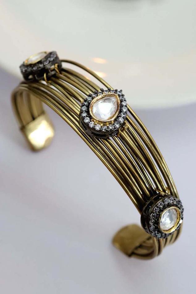 Polki Adjustable Bracelet