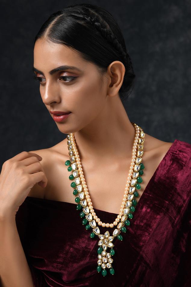 Kundan Layered Necklace