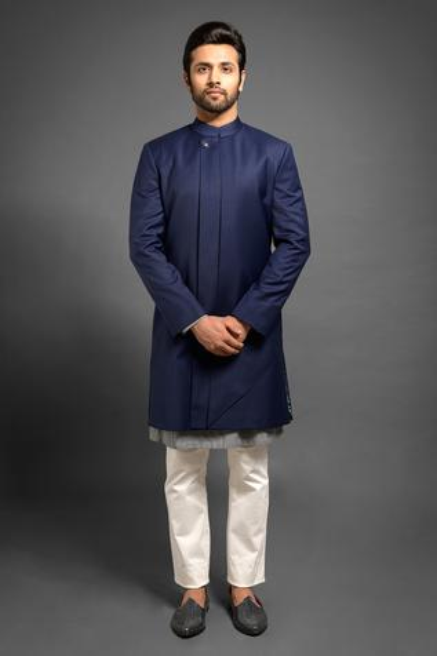 Mandarin Collar Sherwani