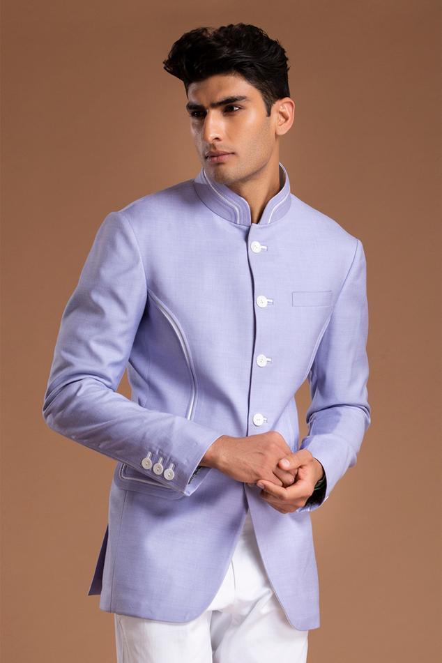Linen Bandhgala