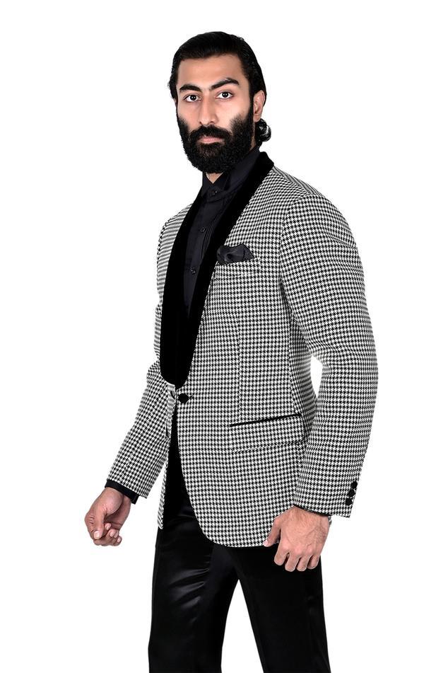Silk Brocade Tuxedo
