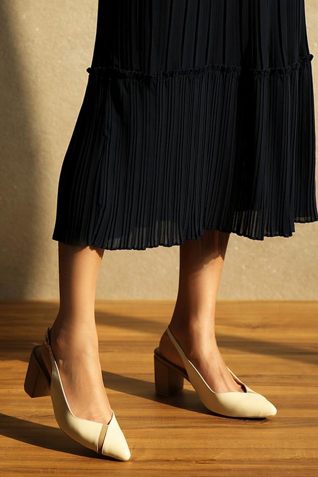 Rosa Pointed Toe Block Heels